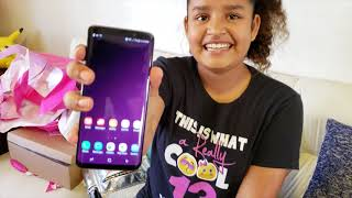 Opening My Birthday Presents/ Unboxing Samsung Galaxy s9