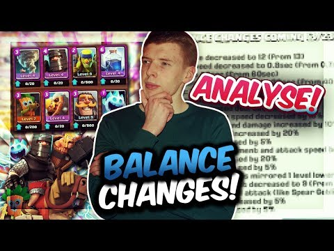 ENDLICH BALANCE CHANGES! | Spam endlich generft? | Lightning Comeback?! | Clash Royale Deutsch