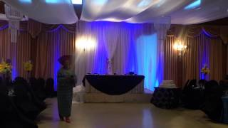 DJ City Birthday party setup for august 2 2014-- Uplighting