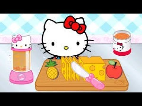 Hello kity lunch box game cute baby kitty game