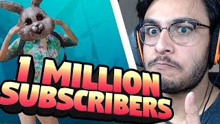 CROSSING 1 MILLION SUBSCRIBERS | PUBG MOBILE HIGHLIGHTS | RAWKNEE