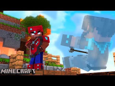 HOW DID HE SEE ME?!?!?!?!?   Minecraft Bed Wars