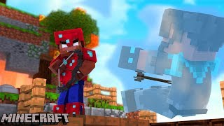 HOW DID HE SEE ME?!?!?!?!? | Minecraft Bed Wars