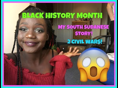 My South Sudanese History!