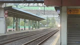 2021.04.17 코레일 밀양역 화물열차 견인 전기기…