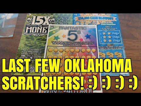 TIME FOR FINAL OKLAHOMA SCRATCHERS $5 TICKETS - YouTube