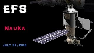 ISS Expansion: Nauka - EpicFutureSpace 07/27/16