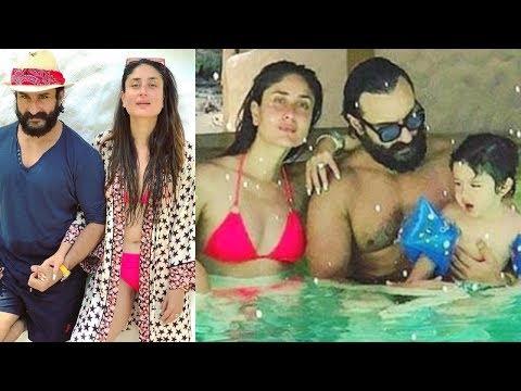 Kareena Kapoor, Taimur Ali Khan And Saif Ali Khan Maldives Diaries 2018