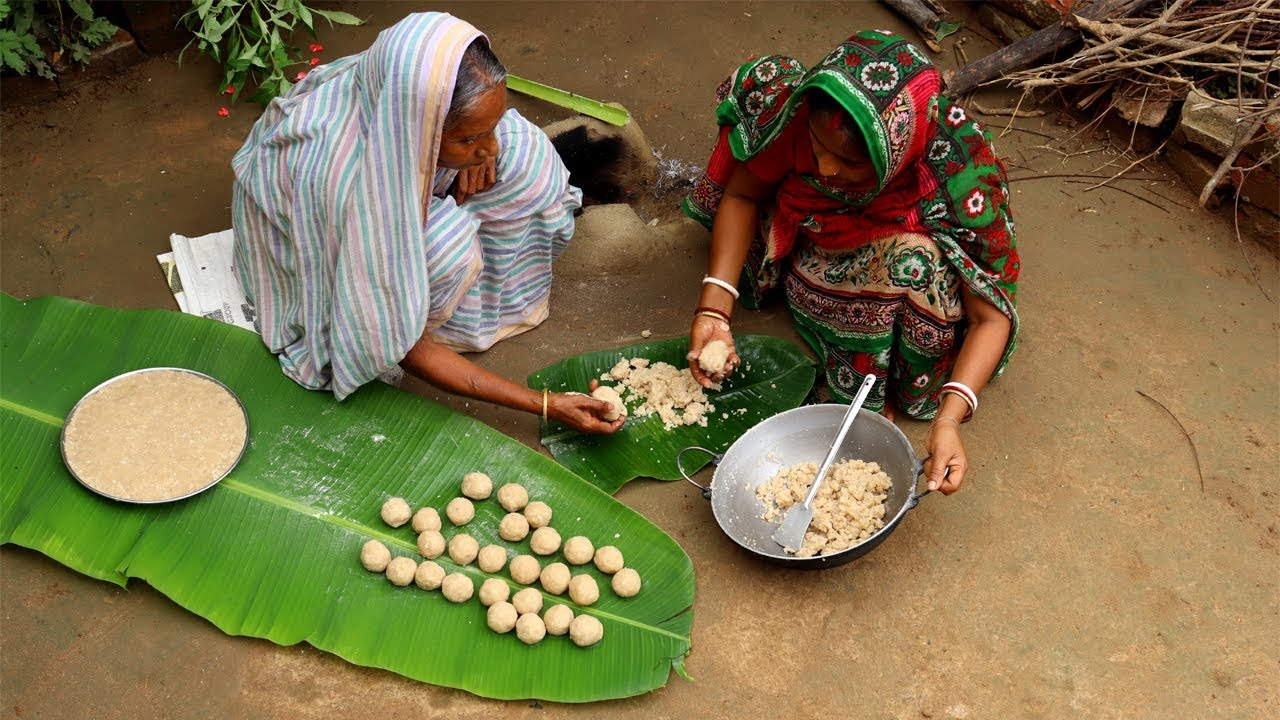 Download Fried Rice Ka Ladoo Recipe by Grandmother | Best and Easy Ladoo Recipe