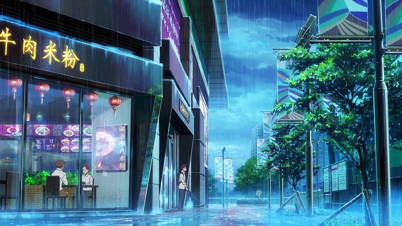 Shiki Oriori Beautiful Anime Rain Amv Color Hd 1080p Youtube
