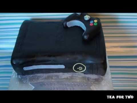 Xbox 360 Elite Cake Youtube
