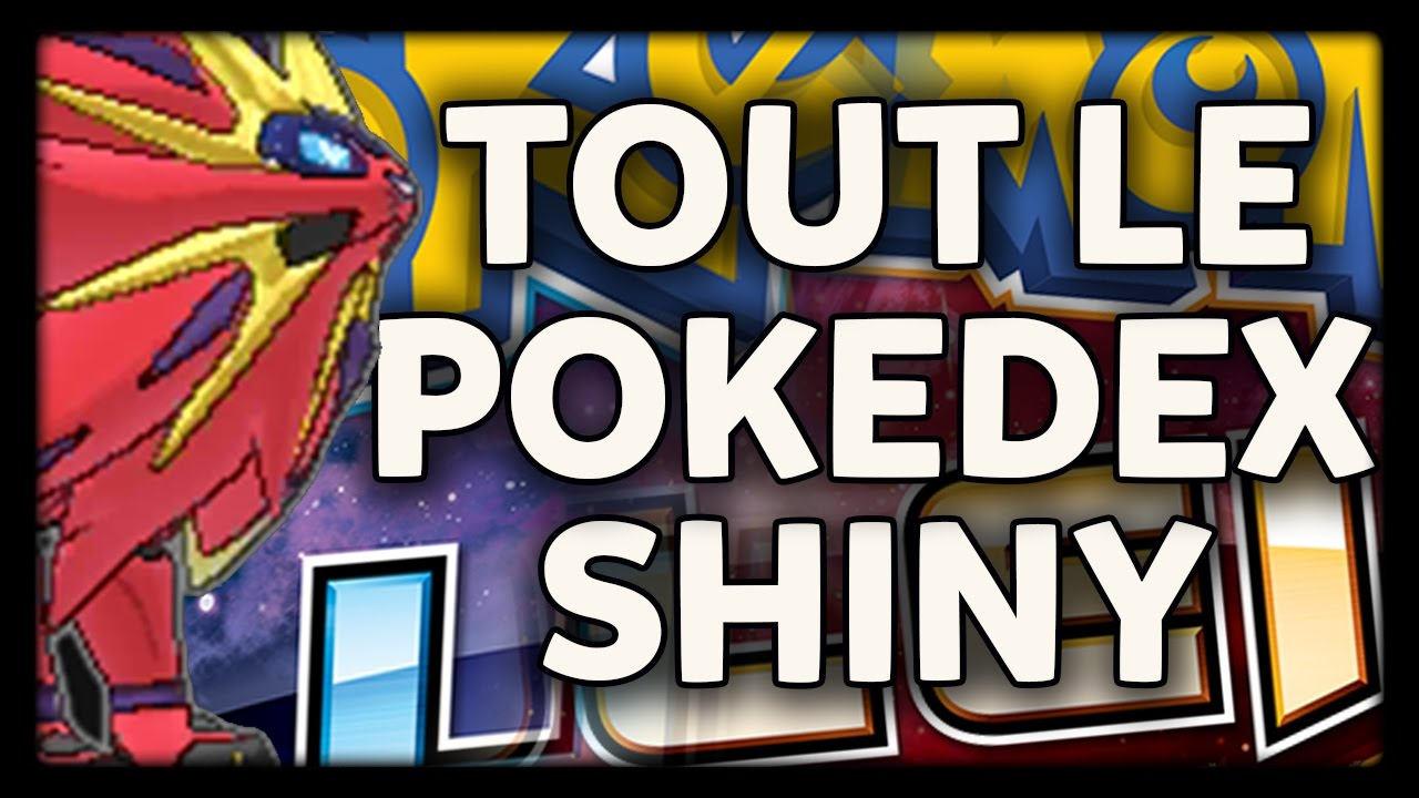 Tous les pokemon de soleil lune shiny forme d 39 alola starters legendaires ultra chimere shiny - Legendaire shiney ...