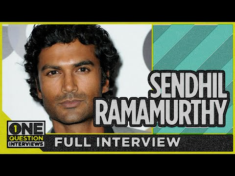"Beauty and the Beast's Sendhil Ramamurthy answers ""What's the worst film you ever loved?"""