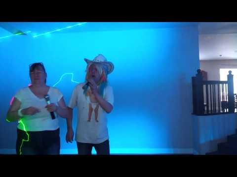 Mad dog karaoke singing  DUET SEX ON THE BEACH