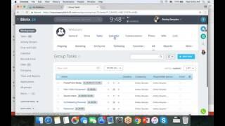 Bitrix24 Tasks And Project Management Webinar