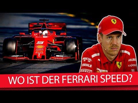 Wo ist der Speed von Ferrari abgeblieben? - Formel 1 2019 (News)