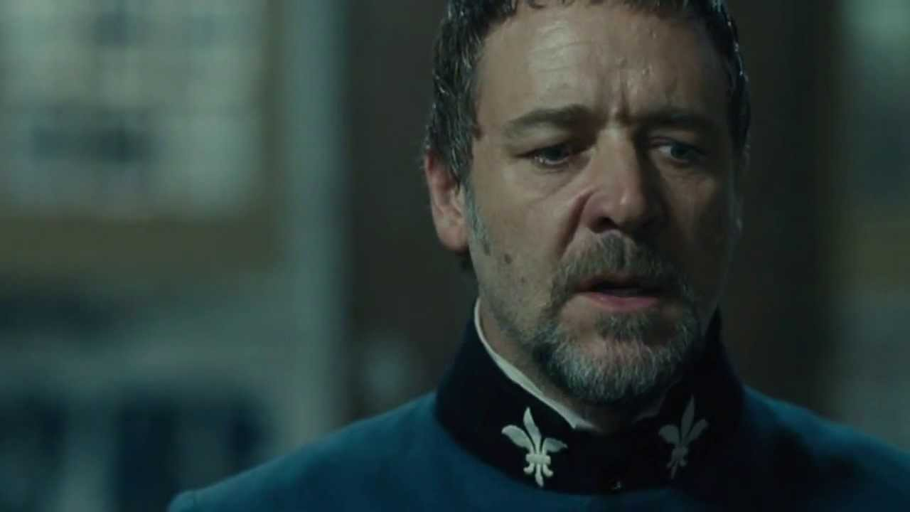 a focus on the character jean valjean in the story prison javert