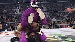 Eddie Guerrero vs. Rey Mysterio - Title vs. Mask WCW Cruiserweight Title Match: Halloween Havoc 1997