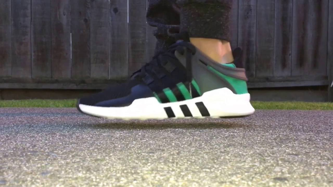 low priced 58c1e 9c43b ... 100% top quality Adidas Eqt Adv On-Feet - YouTube acda2 11d5b ...