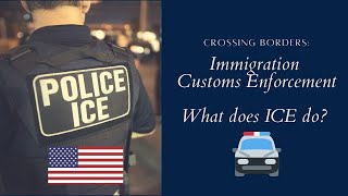 ICE IMMIGRATION - WHAT IS ICE? DEPORTATION, TERRORISM, CRIME AND MORE