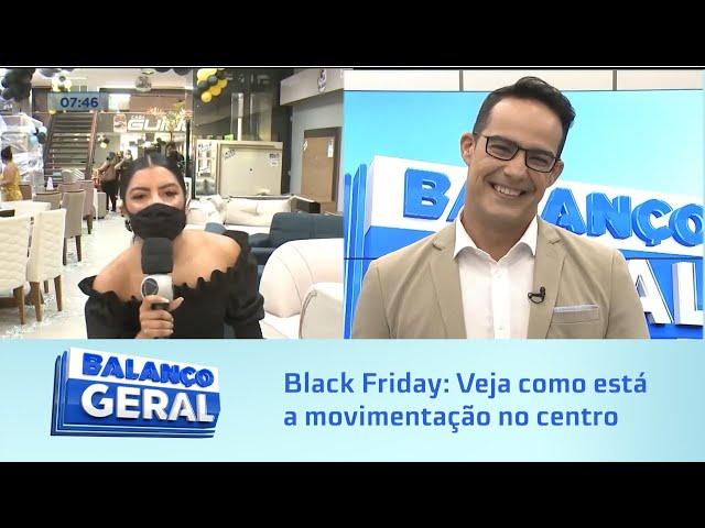 Black Friday: Veja como está a movimentação no Centro de Maceió