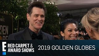 Jim Carrey's Gives Comedy Lesson at 2019 Golden Globe Awards | E! Red Carpet & Award Shows