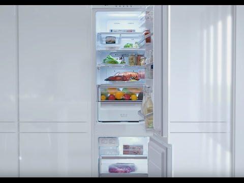 видео: Встраиваемые холодильники lg