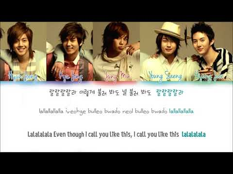SS501 – A SONG CALLING FOR YOU (널 부르는 노래) (Han/Rom/Eng) Color Coded Lyrics