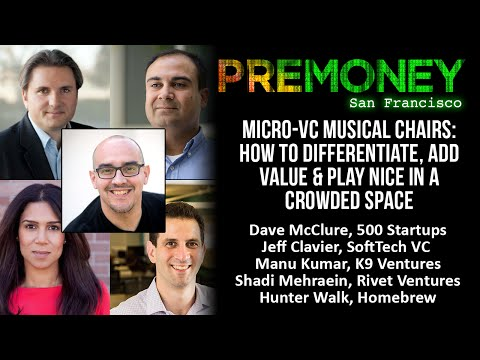 "[PreMoney SF 2015] ""Micro-VC: How To Differentiate, Add Value & Play Nice In A Crowded Space"""