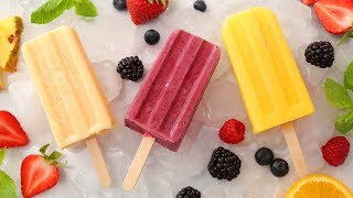 3 Smoothie Popsicle Recipes | Healthy Summer Desserts