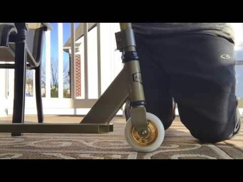 Fuzion X-3 Pro Scoot Gold Unboxing!