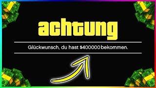 WIE DU INNERHALB VON 30 SEKUNDEN 400.000$ VERDIENST! | GTA 5 Online Trick