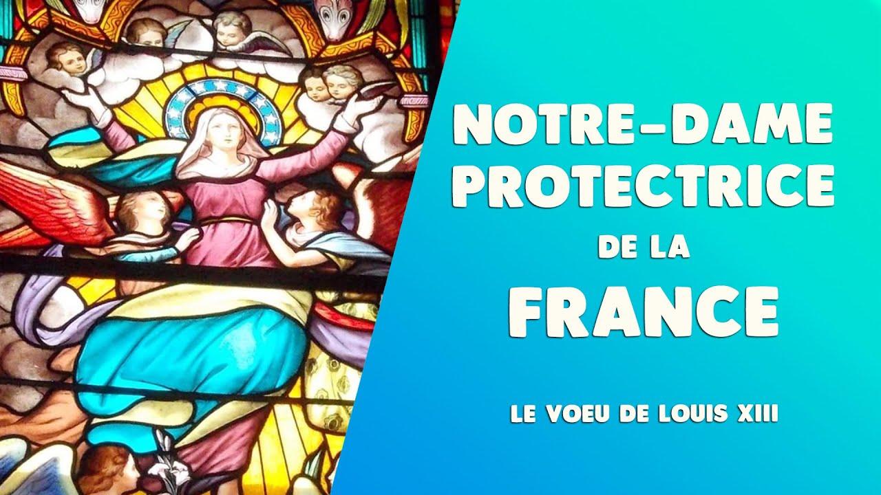 L'ASSOMPTION de la VIERGE MARIE en FRANCE