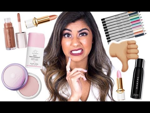 NOT WORTH THE HYPE: Makeup & Skincare!