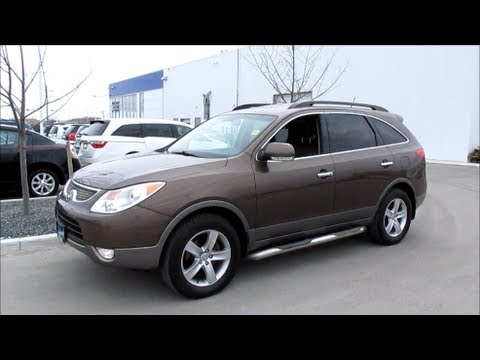 2010 Hyundai Veracruz Limited Start up, Walkaround and In Depth Vehicle Tour