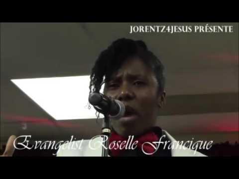 Rosele Francique en Concert Live ( 23 / 1 / 2016).