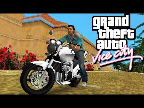 GTA Vice City - BUG DA MOTO