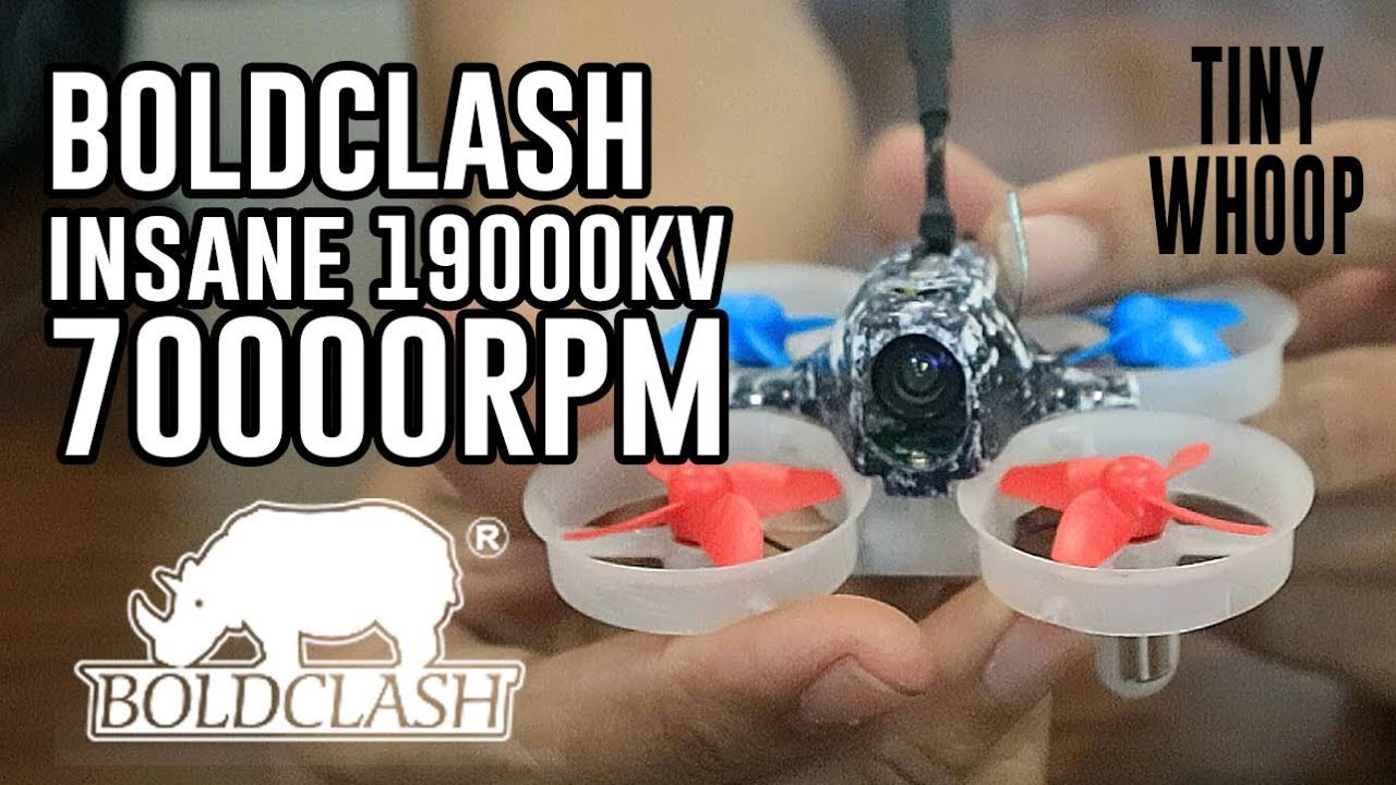 Boldclash insane 19000kv 70000rpm motors tiny whoop youtube for Lumenier tiny whoop motors