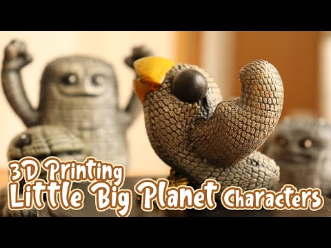 """Let´s sculpt Swoop from """"Little Big Planet"""" 