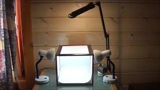 DIY light box photography/Φτιάχνω κουτί για φωτογραφίες