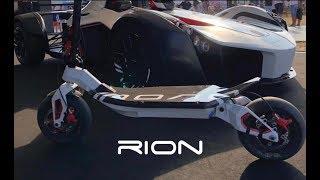 La Trottinette Électrique La Plus Puissante Au Monde !!! RION Race 2