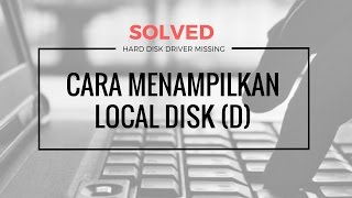 Local Disk D missing