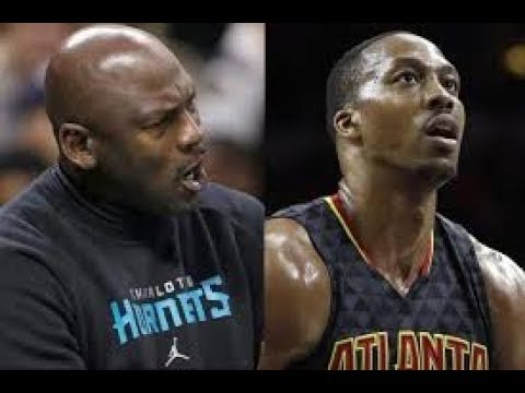 MICHAEL JORDAN MOTIVATING DWIGHT HOWARD AFTER HOWARD WAS READY TO RETIRE IN 2015 AFTER ROCKETS STINT