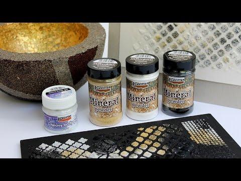 Ásványporok // Mineral Powders
