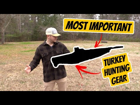Most Important Piece Of Turkey Hunting Equipment!