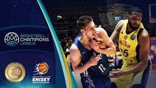 UNET Holon V Enisey Krasnoyarsk - Highlights - Basketball Champions League