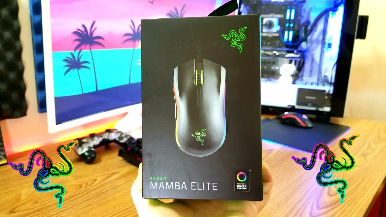 baf011379d1 NEW Razer Mamba Elite 2018 Unboxing and First Impressions - YouTube