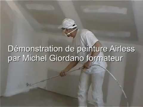 Travaux peinture pistolet airless sans brouillard pah finition qualit a yo - Peinture airless sans brouillard ...