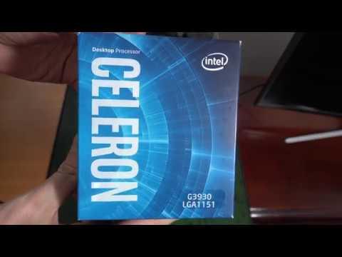 Unboxing Intel Kaby Lake, Celeron Dual Core G3930