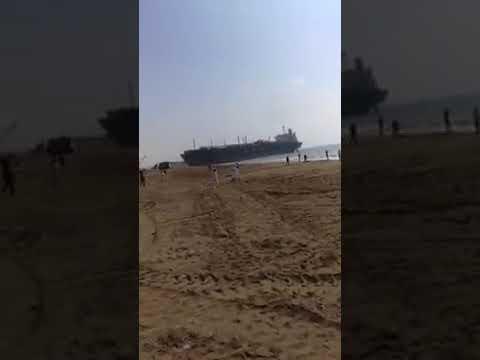 Mv Wana Is Beached In Gadani